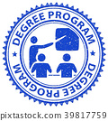 Degree Program Shows Stamps Educated And Education 39817759