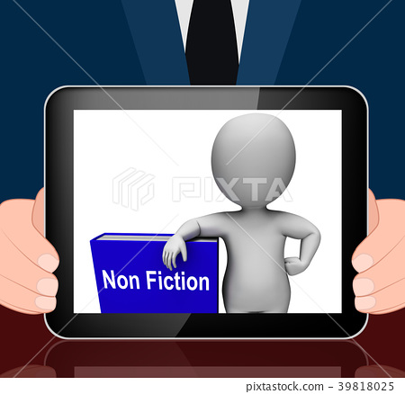 Non Fiction Book And Character Educational  39818025