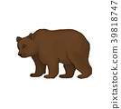 brown, animal, bear 39818747