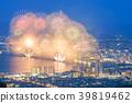 firework, fireworks, night scape 39819462