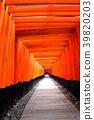 伏见稻荷神社Torii Torii 39820203