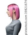short pink woman 39821674