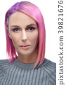 short pink woman 39821676