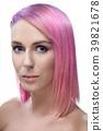 short pink woman 39821678