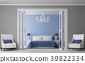3D, bedroom, interior 39822334