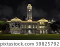 싱가폴 야경 39825792