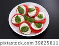 caprese, tomato, vegetables 39825811