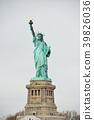 อเมริกานิวยอร์กอนุสาวรีย์เทพีเสรีภาพ 39826036