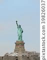 อเมริกานิวยอร์กอนุสาวรีย์เทพีเสรีภาพ 39826037
