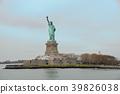 อเมริกานิวยอร์กอนุสาวรีย์เทพีเสรีภาพ 39826038
