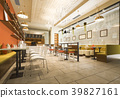 luxury hotel reception and cafe lounge restaurant 39827161
