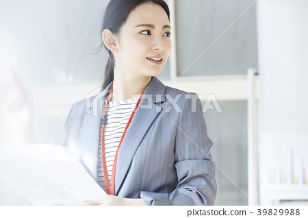 Female business woman 39829988