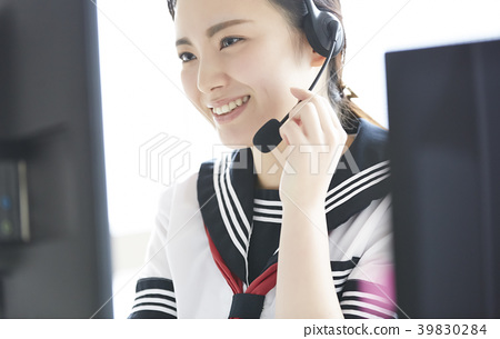 高中女生兼職工作 39830284