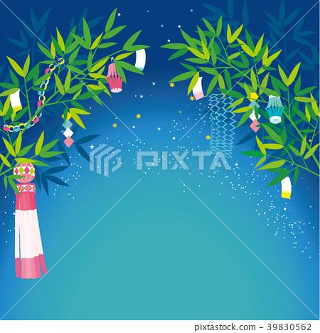 Tanabata background illustration 39830562