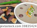 bowl, cream, fresh 39835424