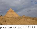 Egyptian pyramids in of Giza, Egypt 39839336