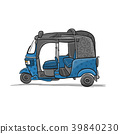 vector, car, vehicle 39840230