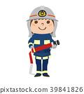 ภาพประกอบของเพลิงหญิงฝึกซ้อมกับสายยาง 39841826