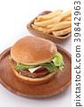 เบอร์เกอร์,ขนมปัง,อาหาร 39842963