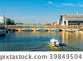 The Pont de Bercy, a bridge over the Seine in 39849504