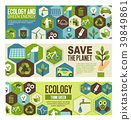 Ecology and green energy eco banner design 39849861