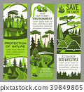 Environment protection banner of eco green nature 39849865