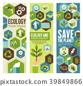 Environment protection banner for eco concept 39849866