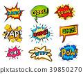 vector, comic, effects 39850270