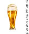 玻璃啤酒水彩例證 39850686