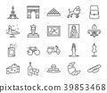 France icon set 39853468