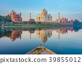 Boat ride on Yamuna river near Taj Mahal 39855012