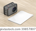 Action camera and blank photos 39857807