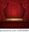 Theater vector concept, classic scene with 39858084