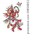 God Quetzalcoatl, the feathered serpent 39858852
