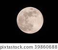 달, 보름달, 분화구 39860688