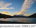 석양의 호수 39861197