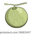 哈蜜瓜 水果 菜販 39863047