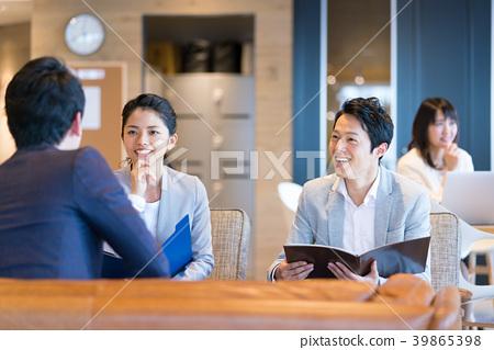 商務談話會議辦公室休閒 39865398