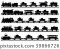 Vintage military trains 39866726