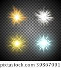 반짝임, 햇빛, 벡터 39867091