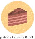 초콜릿 케이크 39868993