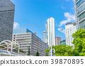 [Osaka Prefecture] Urban landscape 39870895