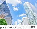[Osaka Prefecture] Urban landscape 39870896