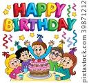 Happy birthday thematics image 5 39871212