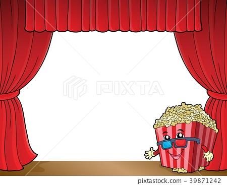 Stylized popcorn theme image 2 39871242