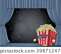 popcorn, stage, movie 39871247