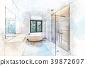 bathroom, interior, bath 39872697