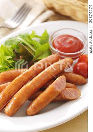 香肠 维也纳香肠 德国香肠 39874574