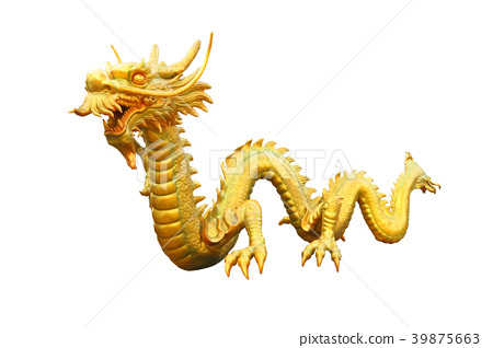 Golden dragon from public area. 39875663