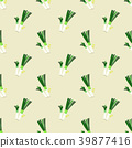 Seamless background watercolor organic vegetable 39877416
